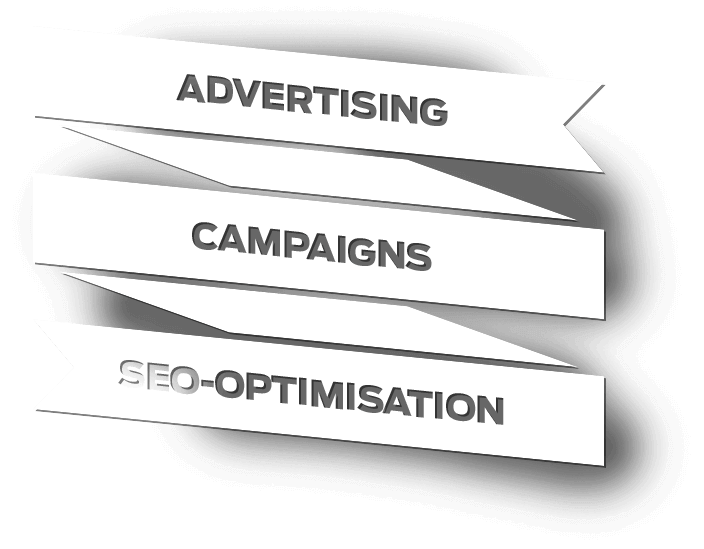Advertising campaigns and SEO-optimisation